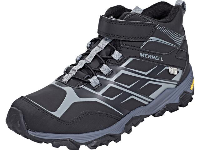 Merrell Moab Fst MID A/C Artic Zapatillas Niños, black